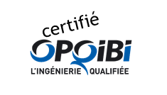 Logo Certication opqibi